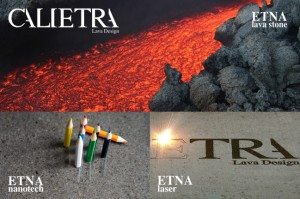 Calietra Ecobuild 2015 ETNA Laser ETNA Nanotech